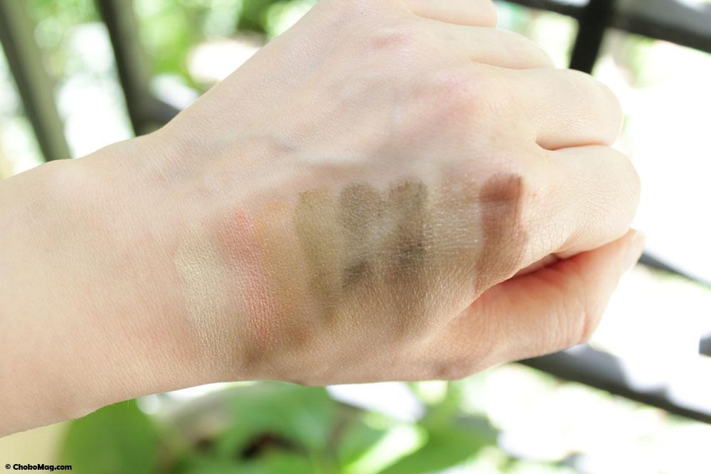 Swatch de ma palette personnalisée Couleur Caramel