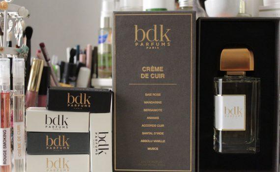 Rouge Smocking et Crème de cuir de BDK Parfums