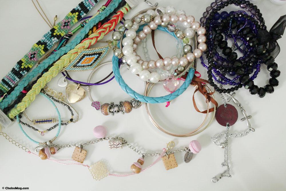 Collection de bracelets femme