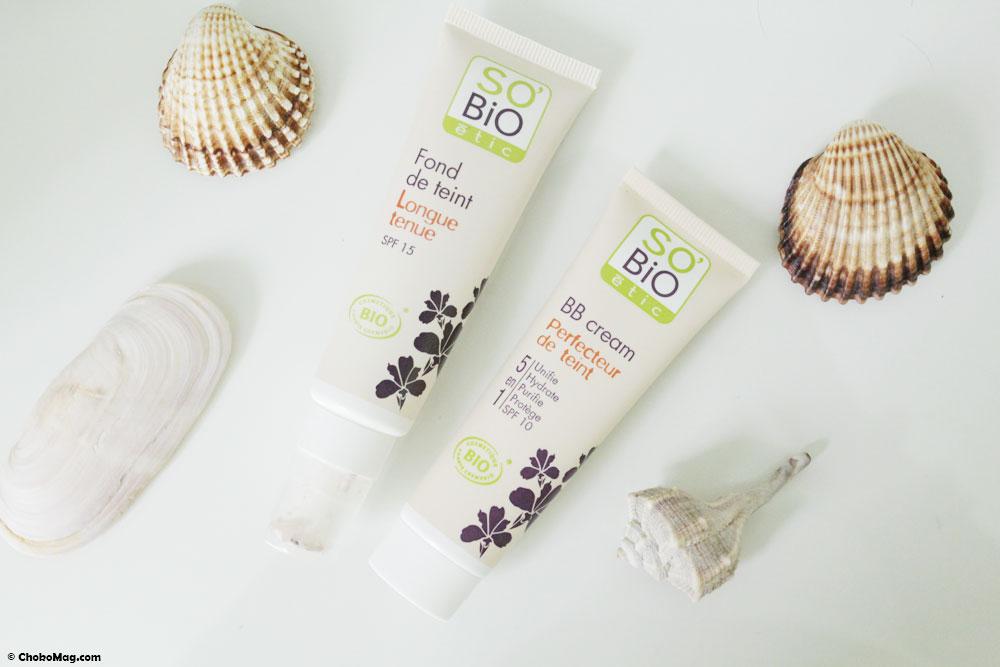 Les produits pour le teint bio de So Bio Etic