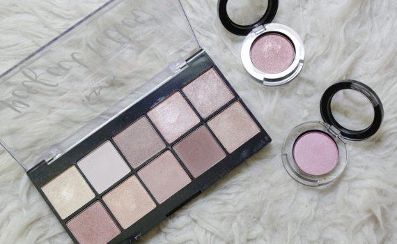 Maquillage d'automne avec la palette NYX Perfect Filter et les fards à paupière Studio Makeup